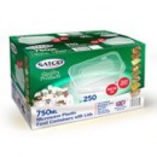 SATCO 750ml Containers (250)**